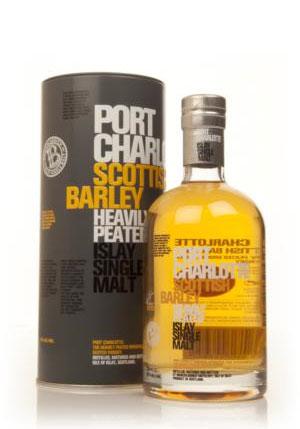 Bruichladdich port charlotte scottish barley heavily peated qu bec whisky - Bruichladdich port charlotte ...